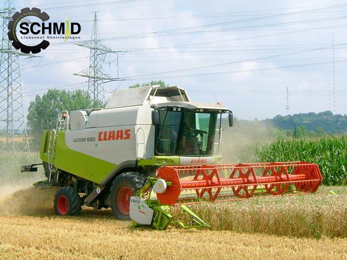 Getreidedrusch-Lexion-550-Bild-2