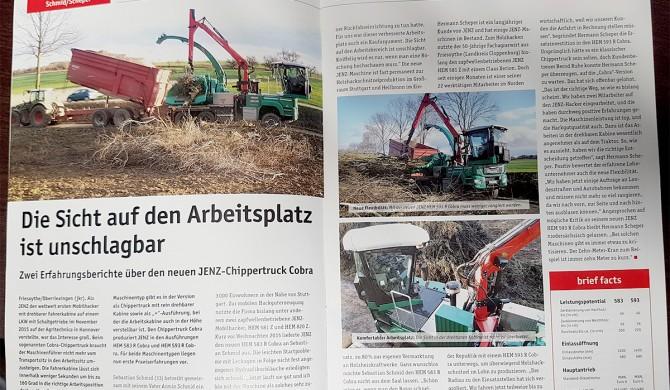 """Unser neuer """"Cobra"""" im JENZ Magazin"""
